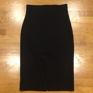 Robert Rodriguez Black Pencil Skirt Size 6